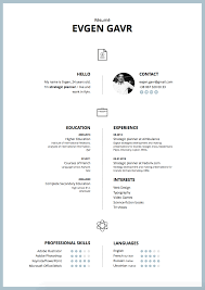 best modern resume templates the best modern resume templates for 2016