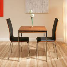 furniture beautiful small square dining table chrome leg dining