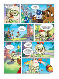 chicken comics comixology