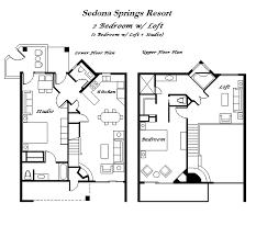 villas of sedona floor plan accommodations sedona springs resort