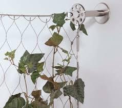 malla metálica para jardín vertical de acero inoxidable de