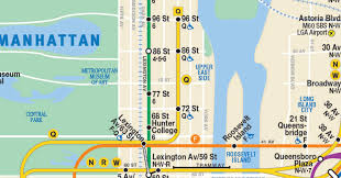 map n this new nyc subway map shows the second avenue line so it has to