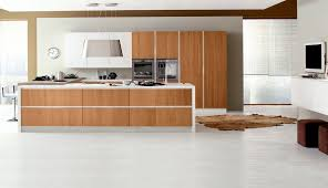 contemporary kitchen walnut island topazio arrex