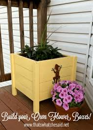 that u0027s what che said diy flower planter boxes that u0027s what
