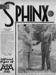 the sphinx spring summer 1948 volume 34 number 2 194803402