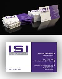 freelance business card for innovative it consulting company by a
