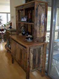 rustic furniture from reclaimed wood the alternative consumer