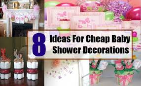Home Made Baby Shower Decorations - baby shower decorating ideas on a budget interior design