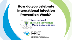 how do you celebrate international infection prevention week