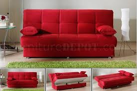 fancy red sofa sleeper small modern sofa contemporary sleeper sofa
