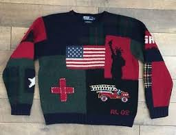 polo ralph 9 11 tribute sweater wool fdny memorial