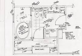 columbus ga master bathroom elevation drawing shower detail www