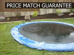 trampoline rings in ground trampolines