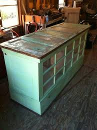 used kitchen island kitchen island made from old doors and windows we could used