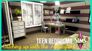 the sims 3 teen bedroom catching up with the farringtons youtube