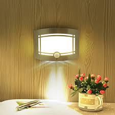 beautiful night light infrared pir motion sensor led wall light