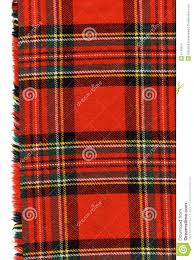 red scottish plaid stock images image 6744924