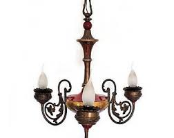 Sale Florentine Tole Wrought Iron Wall Sconce Antique Italian