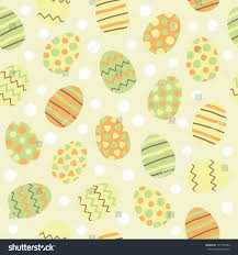 easter eggs seamless pattern stock vector 181755482 shutterstock