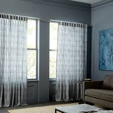 Gray And Teal Curtains Cotton Canvas Sted Dots Curtains Set Of 2 Shimmer West Elm