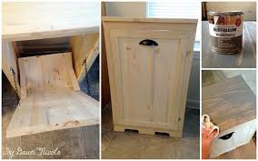Kitchen Recycling Bins For Cabinets Remodelling Your Home Decor Diy With Creative Awesome Kitchen