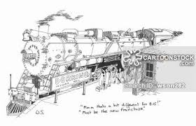 steam train cartoons and comics funny pictures from cartoonstock