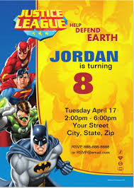 colors classic superman birthday party invitations printable