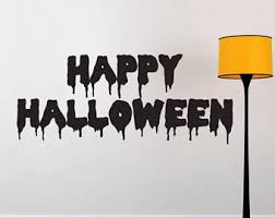 happy halloween sign etsy