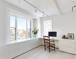 White Walls Clean by Home Office Workspace Inspiration With White Walls Light Hardwood