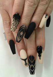 black beige matte nails design nailart inspiration nailssssss