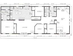 4 Bedroom Home Floor Plans Bedroom Modular Homes Floor Plans Also 4 Double Wide Mobile Home