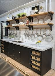Kitchen Cabinets Open Shelving 7 Kitchen U0026 Bath Trends Of 2016 La Cornue Open Shelving And Pot