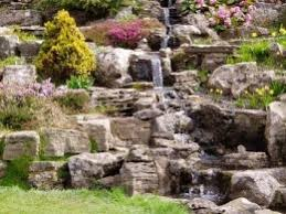 rock garden home gardening ideas