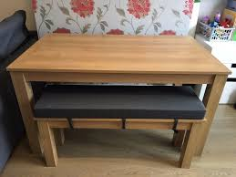 next malvern dining table and bench set in enfield london gumtree