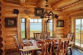 log home interior photos log home interiors yellowstone log homes