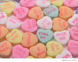 heart shaped candy heart candy image