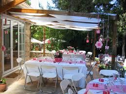 backyard dinner party decorating ideas backyard fence ideas