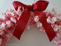 how to make a candy wreath craft for christmas live craft eat