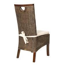 lot de 6 chaises salle à manger lot de 6 chaises design en rotin lot de 6 chaises design racine