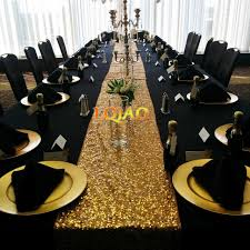 sequin table runner wholesale wholesale luxury gold silver chagne sequin table runner wedding