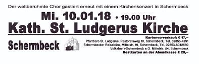 Bad Bergzabern Plz 46514 Schermbeck Don Kosaken Chor Wanja Hlibka