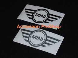 mini cooper logo acromann online shop