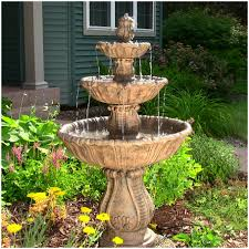 Patio Fountains Diy by Backyards Outstanding Water Fountain Backyard 15 Home Garden