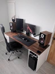 pc desk design furniture unique computer desk ideas for modern workspace design