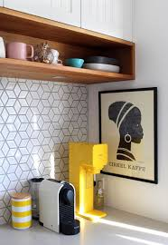 15 edgy geometric kitchen backsplashes to get inspired shelterness