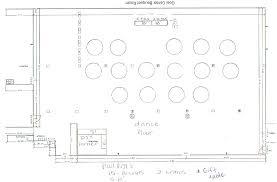 wedding reception floor plan