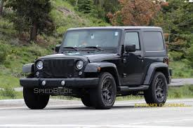 2018 Jeep Wrangler Jl Mule Confirms Six Speed Manual 2018