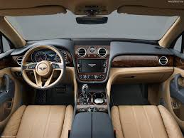 blue bentley interior bentley bentayga 2016 pictures information u0026 specs