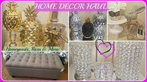 home decor haul 2017 homegoods marshalls ross h u0026m youtube