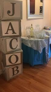 mrs crafty adams baby shower decorations baby blocks